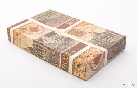"""Подарочная коробка """"Destination Rome"""" (11,5х18х2,8 см) — фото, картинка"""