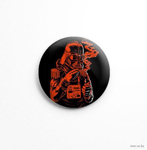 """Значок маленький """"Звездные войны. Дарт Вейдер"""" (арт. 601) — фото, картинка"""