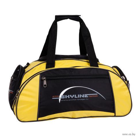 Сумка спортивная малая 6063с (36 л; жёлтая) — фото, картинка