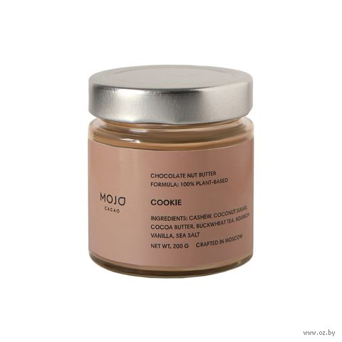 "Паста шоколадно-ореховая ""Mojo Cacao. Cookie"" (200 г) — фото, картинка"