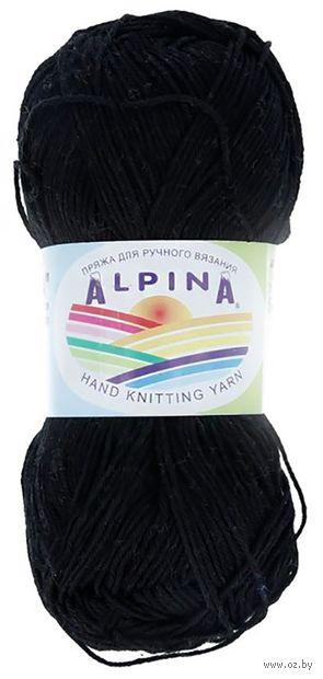 """Пряжа """"ALPINA. Xenia №02"""" (50 г; 240 м; черный) — фото, картинка"""