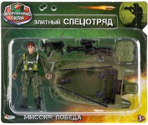 """Игровой набор """"Солдатик с оружием"""" (арт. 1710Y327-R) — фото, картинка"""
