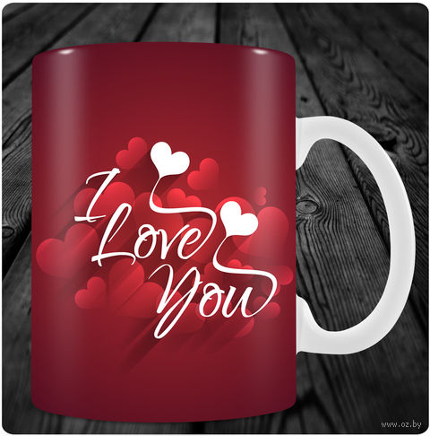 "Кружка ""День святого Валентина"" (арт. 18) — фото, картинка"