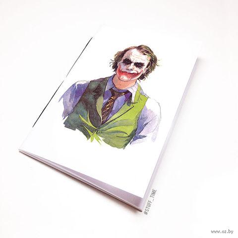 "Блокнот белый ""Джокер"" А6 (044)"