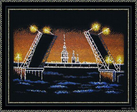 """Набор для вышивания """"Ночной Питер"""" (360x250 мм) — фото, картинка"""