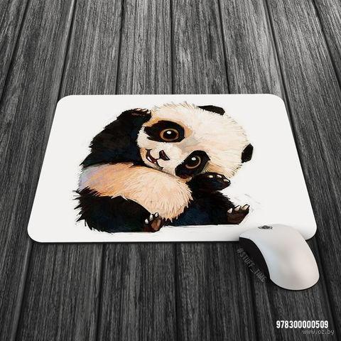 """Коврик для мыши большой """"Панда"""" (арт. 509)"""