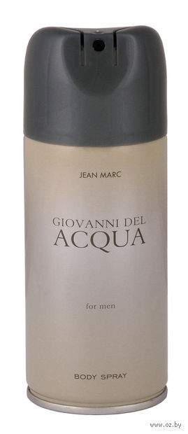 "Дезодорант для мужчин ""Covanni Del Acqua"" (спрей; 150 мл)"