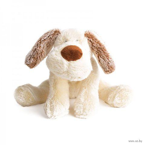 """Мягкая игрушка """"Лежачий щенок Санти"""" (28 см) — фото, картинка"""