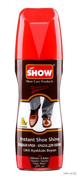 "Крем-краска для обуви ""Premium"" (75 мл; темно-коричневая) — фото, картинка"