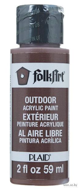 """Краска акриловая """"FolkArt. Outdoor"""" (кленовый сироп; 59 мл; арт. PLD-01617) — фото, картинка"""