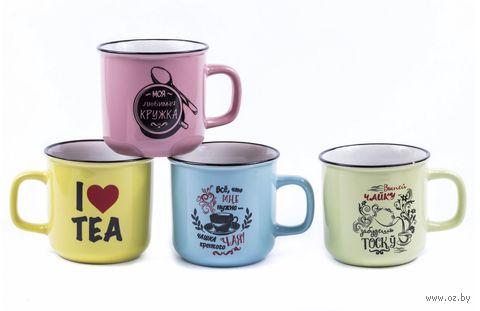 """Кружка """"I Love Tea"""" (арт. L2410020) — фото, картинка"""