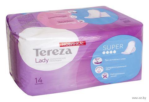 "Урологические прокладки ""Tereza Lady. Super"" (14 шт.) — фото, картинка"