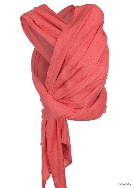 "Слинг-шарф ""Нибус"" (коралловый) — фото, картинка"