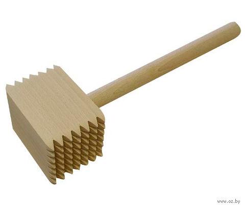 Молоток для отбивания мяса деревянный (285 мм)