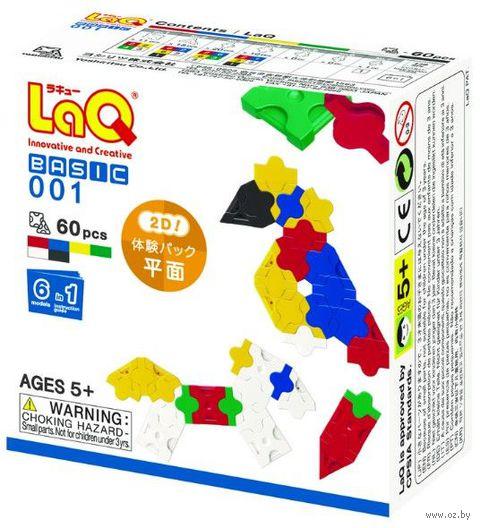"""Конструктор """"LaQ. Basic 001"""" (60 деталей)"""