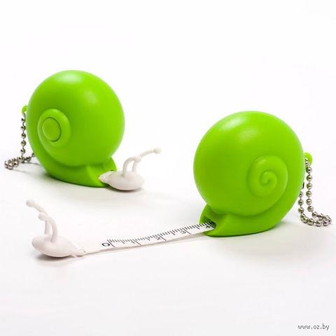 "Брелок-рулетка ""Snail"" (зеленый)"