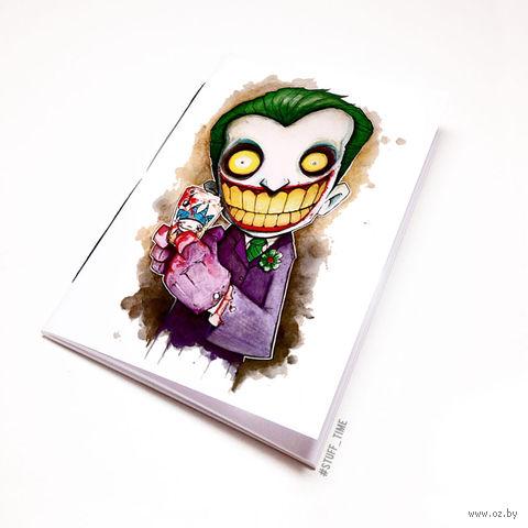 "Блокнот белый ""Джокер"" А6 (045)"