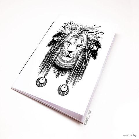 """Блокнот """"Лев"""" (А5; арт. 269) — фото, картинка"""