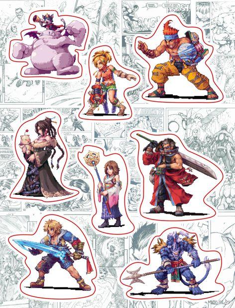 """Набор виниловых наклеек №147 """"Final Fantasy"""""""