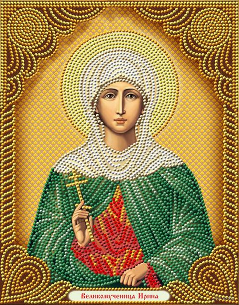 """Алмазная вышивка-мозаика """"Икона Великомученица Ирина"""" (220х280 мм) — фото, картинка"""