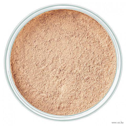 """Рассыпчатая пудра для лица минеральная """"Mineral Powder Foundation"""" (тон: 2, natural beige) — фото, картинка"""