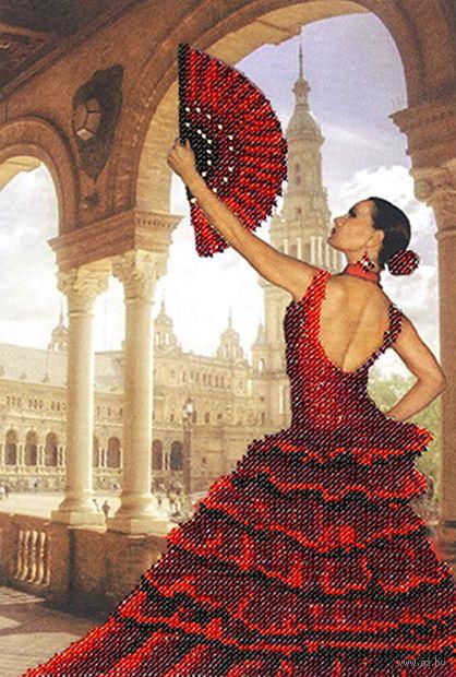 "Вышивка бисером ""Испания"" (200х270 мм) — фото, картинка"