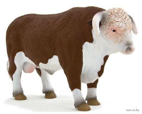 """Фигурка """"Animal Planet: Герефордский бык"""""""