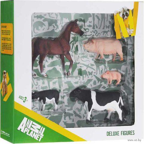 """Набор фигурок """"Animal Planet: Ферма"""" (5 шт.)"""
