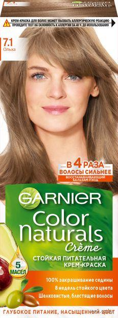 """Крем-краска для волос """"Color Naturals"""" (тон: 7.1, ольха) — фото, картинка"""