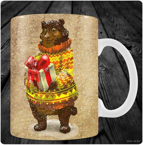"""Кружка """"Медведь"""" (арт. 57) — фото, картинка"""