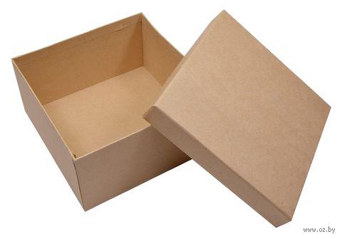 "Заготовка картонная ""Шкатулка"" (140х140х70 мм) — фото, картинка"