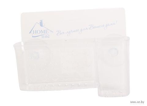 Подставка для зубных щеток на присосках (160х50х80 мм) — фото, картинка