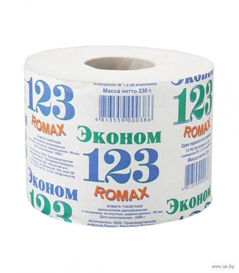 "Туалетная бумага ""Эконом - 123"" (1 рулон) — фото, картинка"