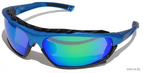 """Очки солнцезащитные """"SB-12233"""" (синие) — фото, картинка"""