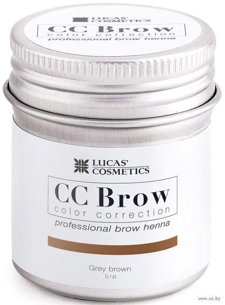 "Хна для бровей ""CC Brow. Баночка"" тон: grey brown — фото, картинка"