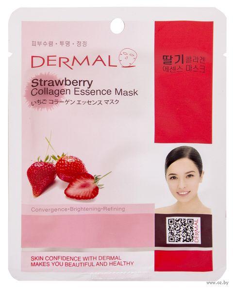 "Тканевая маска для лица ""Strawberry Collagen"" (23 г) — фото, картинка"