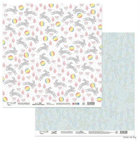 "Набор бумаги для скрапбукинга ""Моя ягодка"" (305х305 мм) — фото, картинка"
