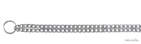 """Ошейник-цепочка двойной для собак """"TRIXIE"""" (50 см, арт. 2237)"""