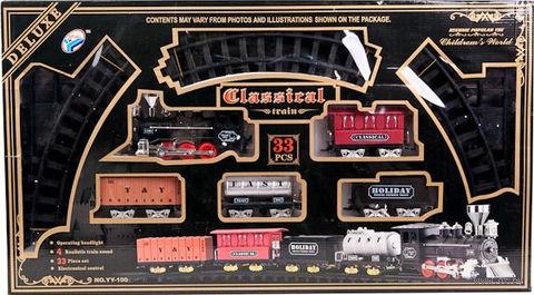"""Железная дорога """" Deluxe Classical"""" (арт. YY-100) — фото, картинка"""