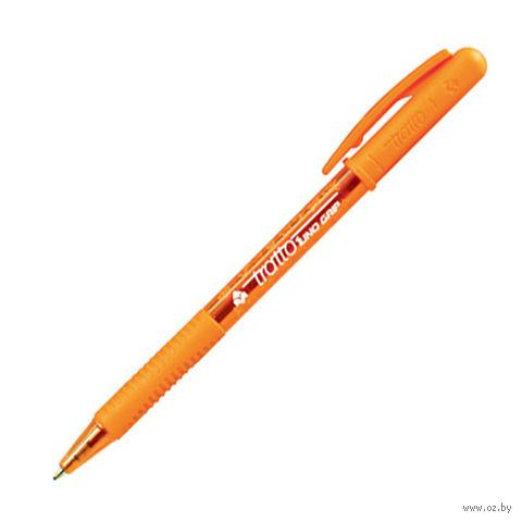 """Ручка шариковая """"TRATTO"""" (оранжевый стержень)"""