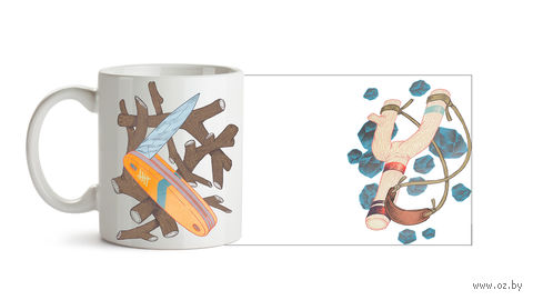 "Кружка ""Ножик и Рогатка"" (824)"