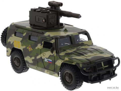 "Модель машины ""ГАЗ Тигр"" (масштаб: 1/43) — фото, картинка"