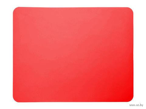 Лист для выпекания силиконовый (380x300 мм; красный) — фото, картинка