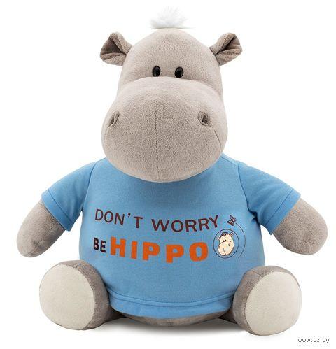 "Мягкая игрушка ""Бегемот Be Hippo"" (20 см) — фото, картинка"