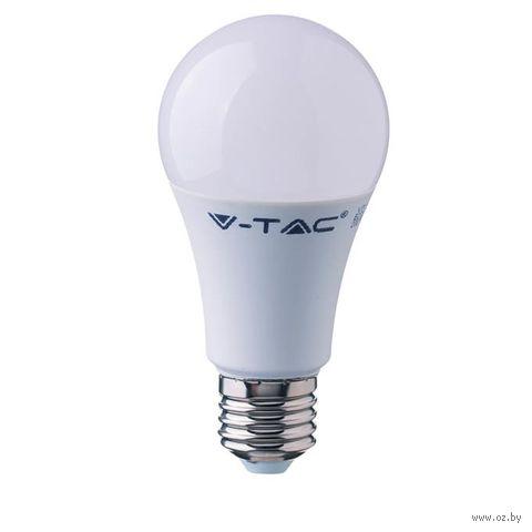 Светодиодная лампа V-TAC VT-2099 9 ВТ, А60, Е27, 2700К — фото, картинка