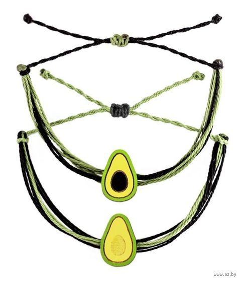"Набор браслетов ""Половинки авокадо"" — фото, картинка"