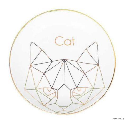 "Тарелка ""Кошка"" — фото, картинка"