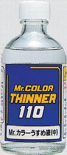 Разбавитель для акриловых красок (110 мл, арт. T-102)