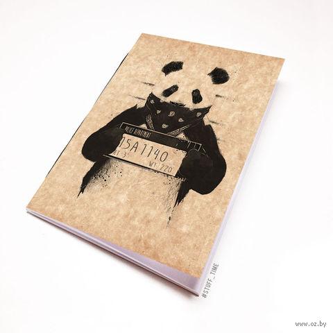 """Блокнот крафт """"Панда"""" (А7; арт. 510) — фото, картинка"""