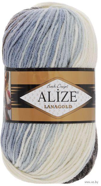 "Пряжа ""ALIZE. Lana Gold Batik Desing №1601"" (100 г; 240 м) — фото, картинка"